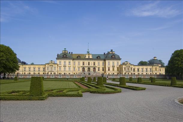 Drottningholmský palác, Stockholm, Švédsko