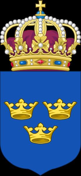 Švédský malý státní znak