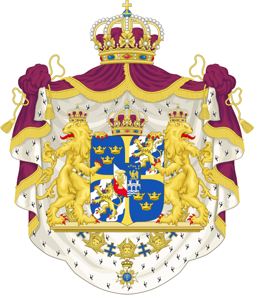 Švédský velký státní znak