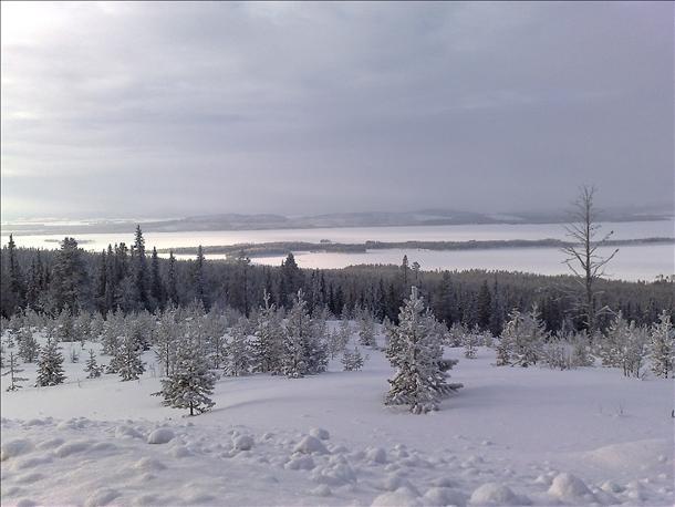 Laponie, Lappland, Švédsko